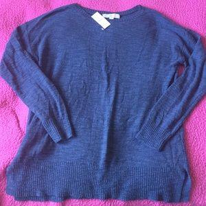 NWT LOFT Blue Light Weight Sweater